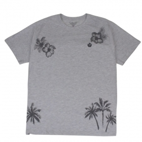 Camiseta Beach Cinza