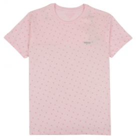 Camiseta Mini Estampa Coqueirinhos