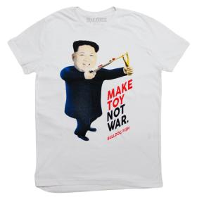 Camiseta Make Toy Not War