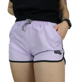 Shorts tactel Colors Verde Lilás