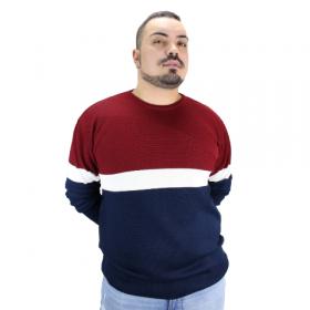 Suéter de Tricot com Texturas