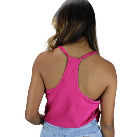 Blusa Costas Nadador Líria  Pink