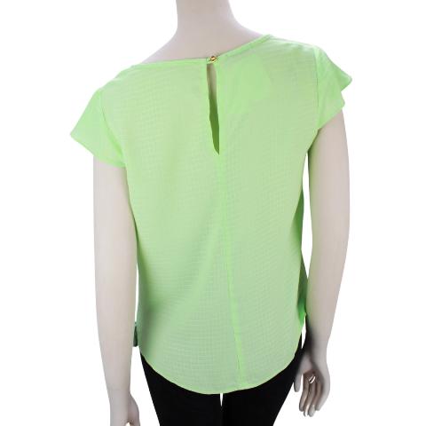 Blusa Líria Verão Verde Torção