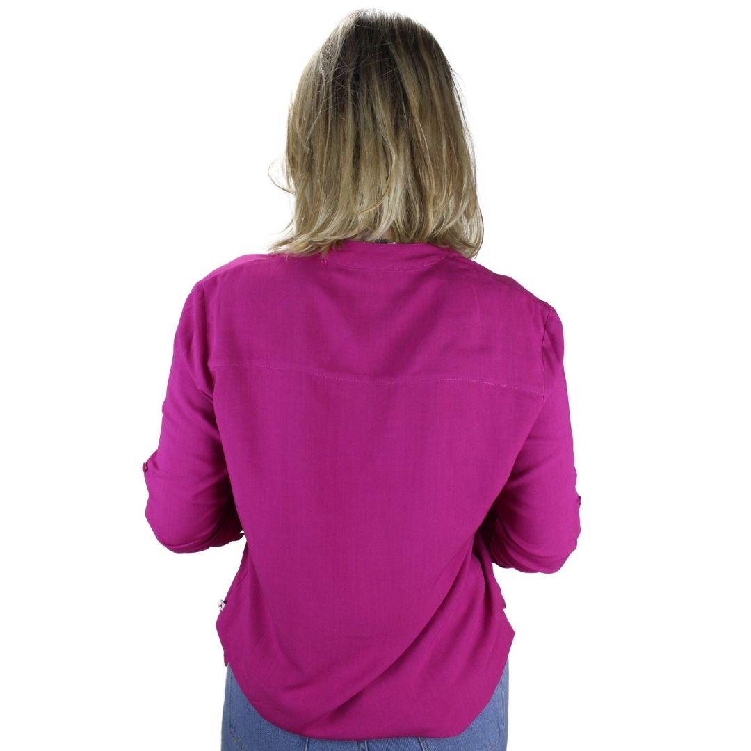 Camisa Manga Longa Pink