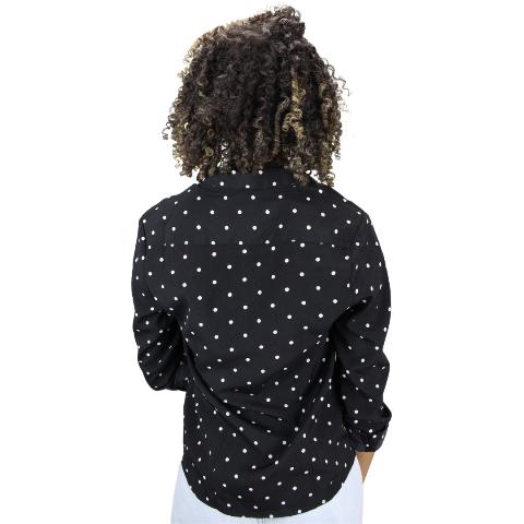 Camisa Manga Longa POA Preta