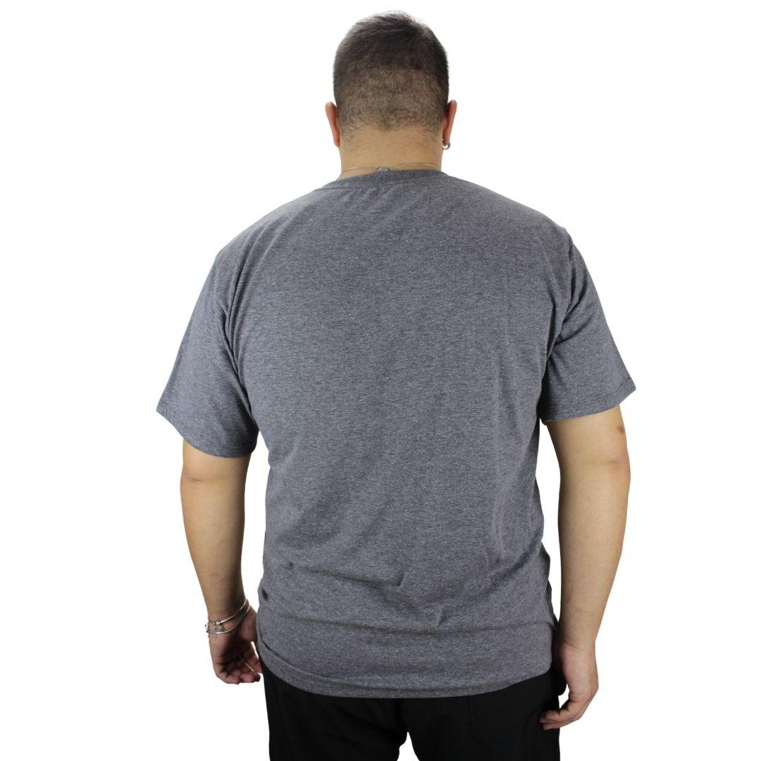 Camiseta Básica Mescla Escuro
