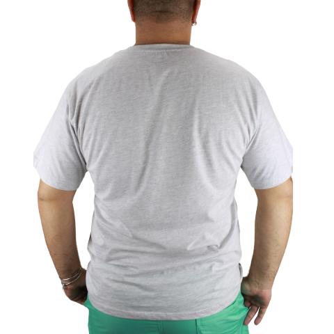 Camiseta Beach Cinza