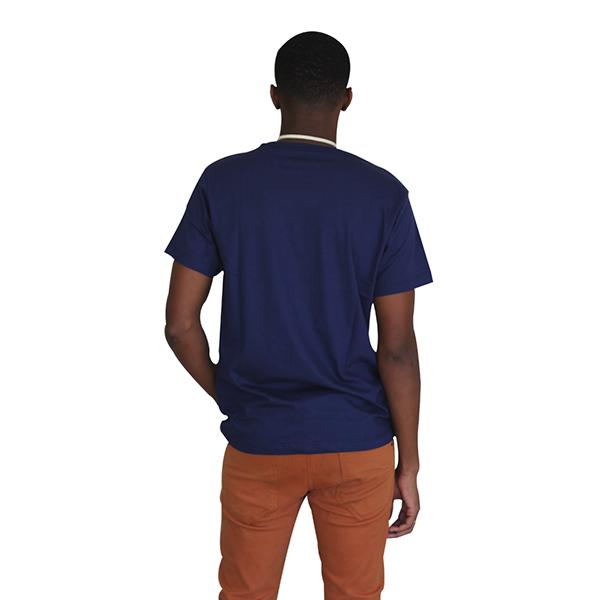 Camiseta Líria Azul Marinho