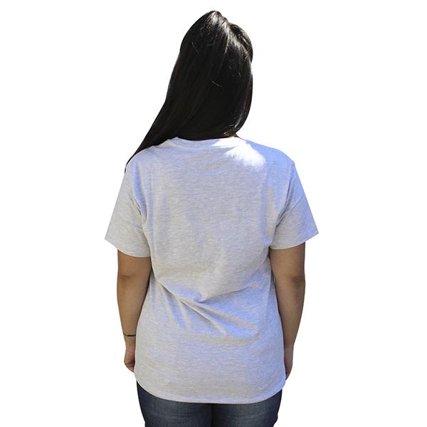 Camiseta Líria Cinza Claro
