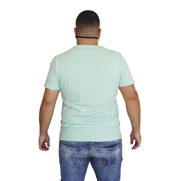 Camiseta Líria Verde Água
