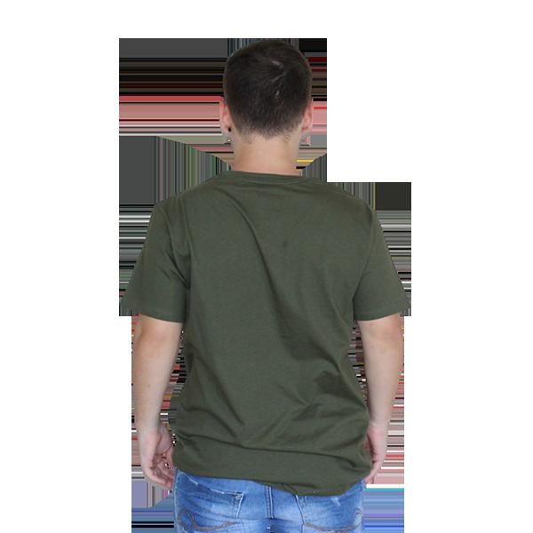 Camiseta Líria Verde Militar