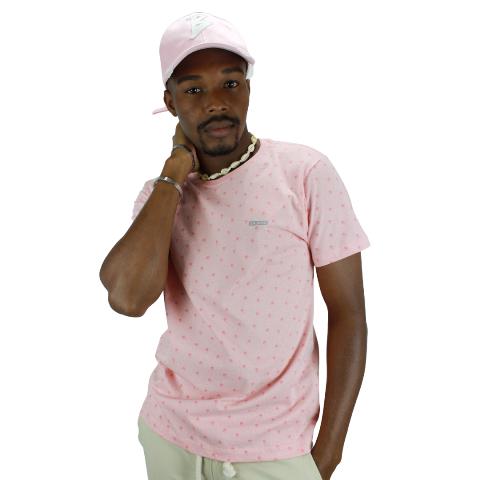 Camiseta Mini Estampa Coqueirinhos