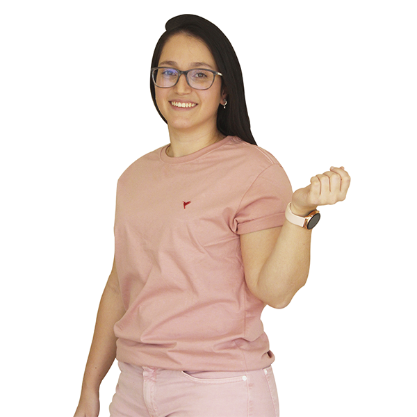 KIT 3 Camisetas ( Preta, Branca e Rose)