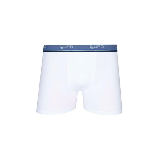Cueca Boxer Algodão Branca