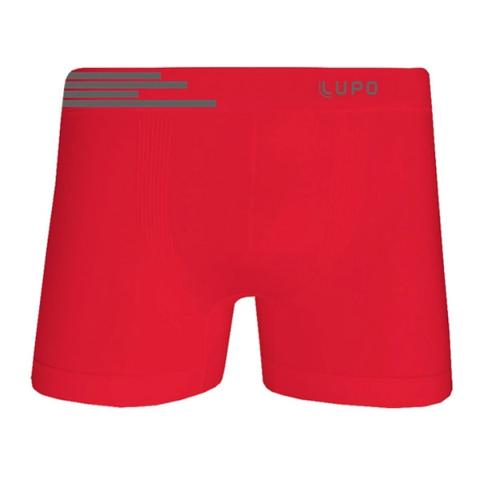 Cueca Boxer LUPO Microfibra Vermelho