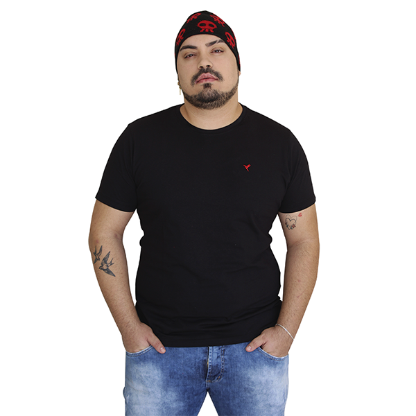 KIT 3 Camisetas ( 2 Brancas e 1 Preta)