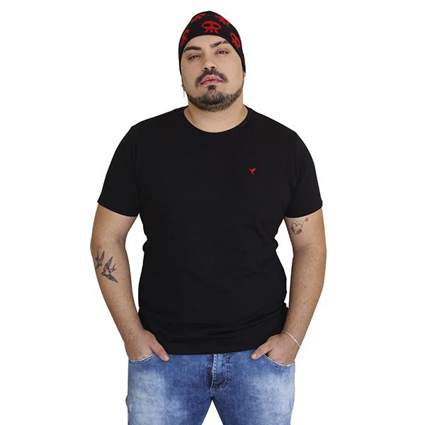 KIT 3 Camisetas (Preta, Branca e Cinza)