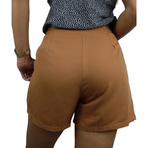 Shorts Social Líria Ocre