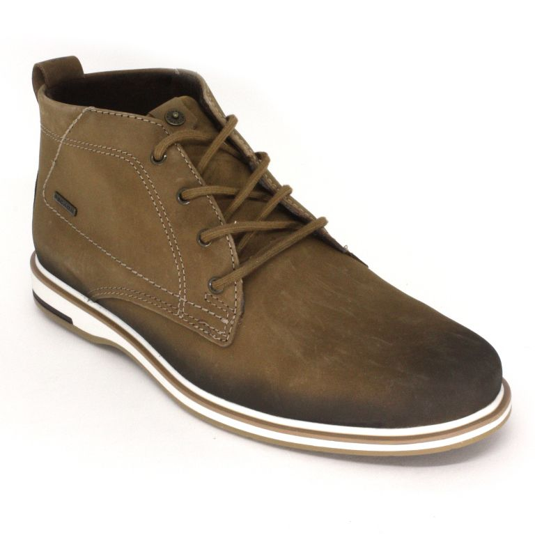 Bota Sapato Masculino Cano Baixo Pegada 125105-02 Marrom
