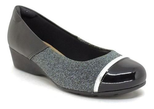 Sapato Feminino Anabela Modare 7014.263 Preto