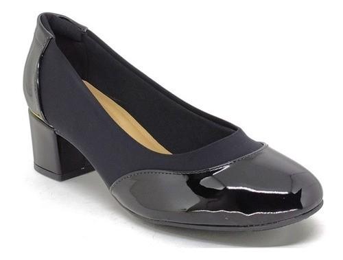Sapato Feminino Salto Baixo Modare 7316.231 Preto
