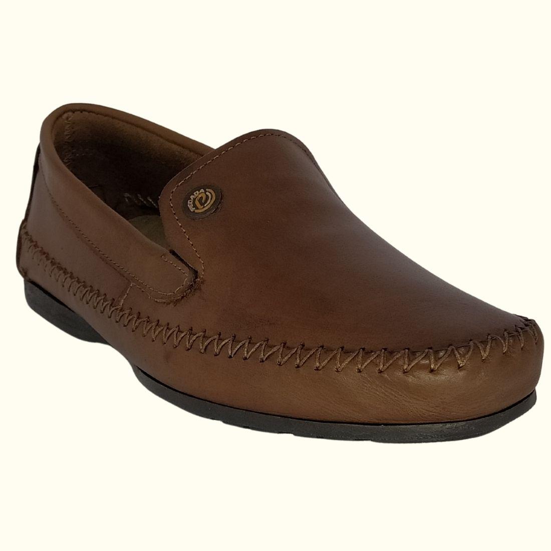 Sapato Mocassim Masculino Pegada Couro