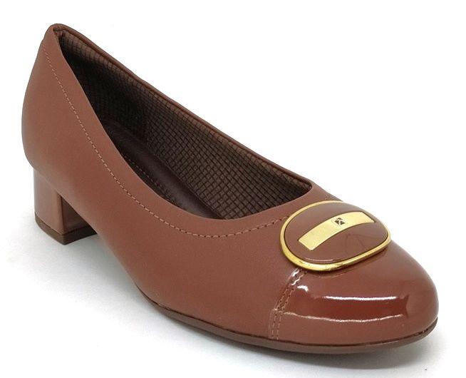 Sapato Feminino Salto Baixo Piccadilly 141108 Marrom
