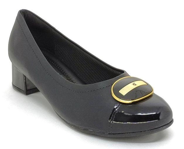 Sapato Feminino Salto Baixo Piccadilly 141108 Preto