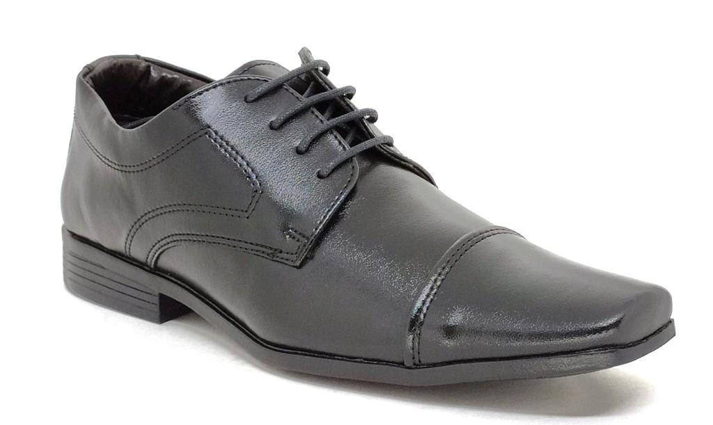 Sapato Social Infantil Bertelli 70115 Preto