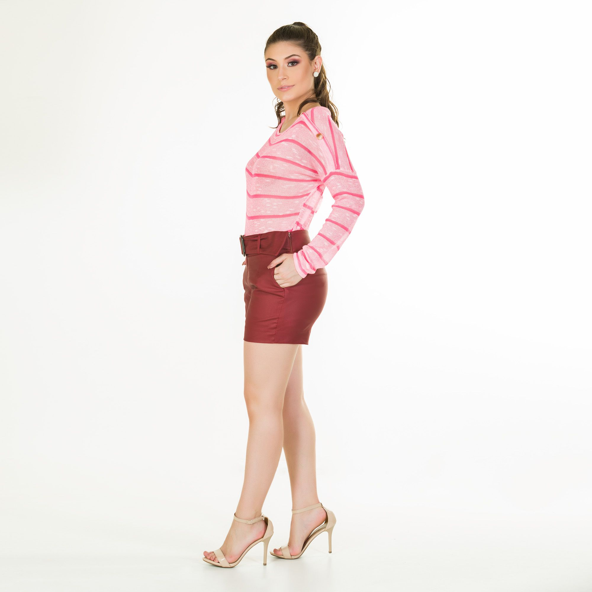 blusa trico fluor