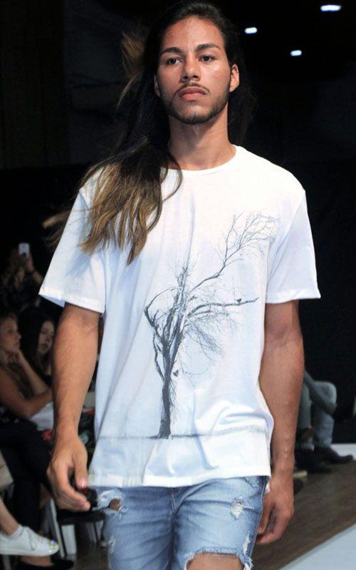 Camisetas ecológicas - tecido garrafa Pet - Vida BR - Árvore