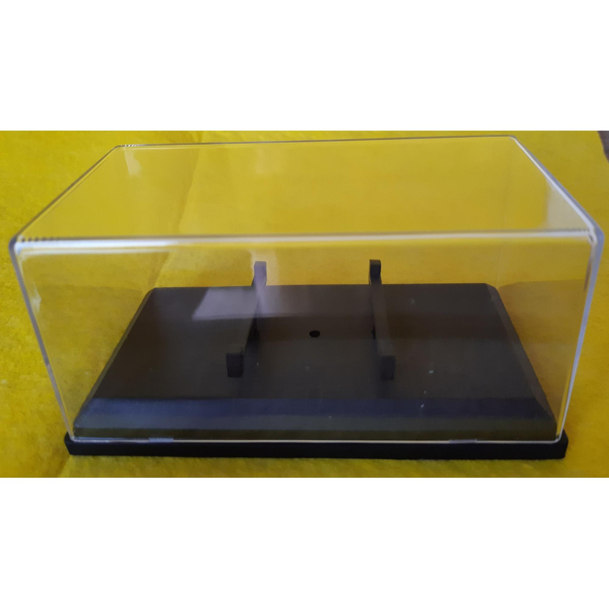 Caixa Plástica (Expositor) para miniaturas na escala 1/64