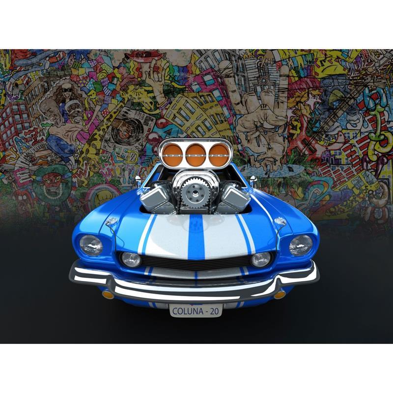 Carro V8 100 Pecas