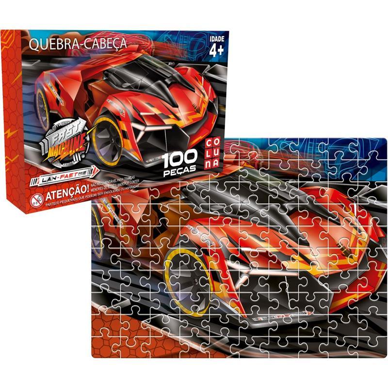 Fast Machine com 100 peças