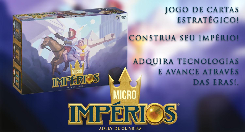 Micro Impérios - Cardgame