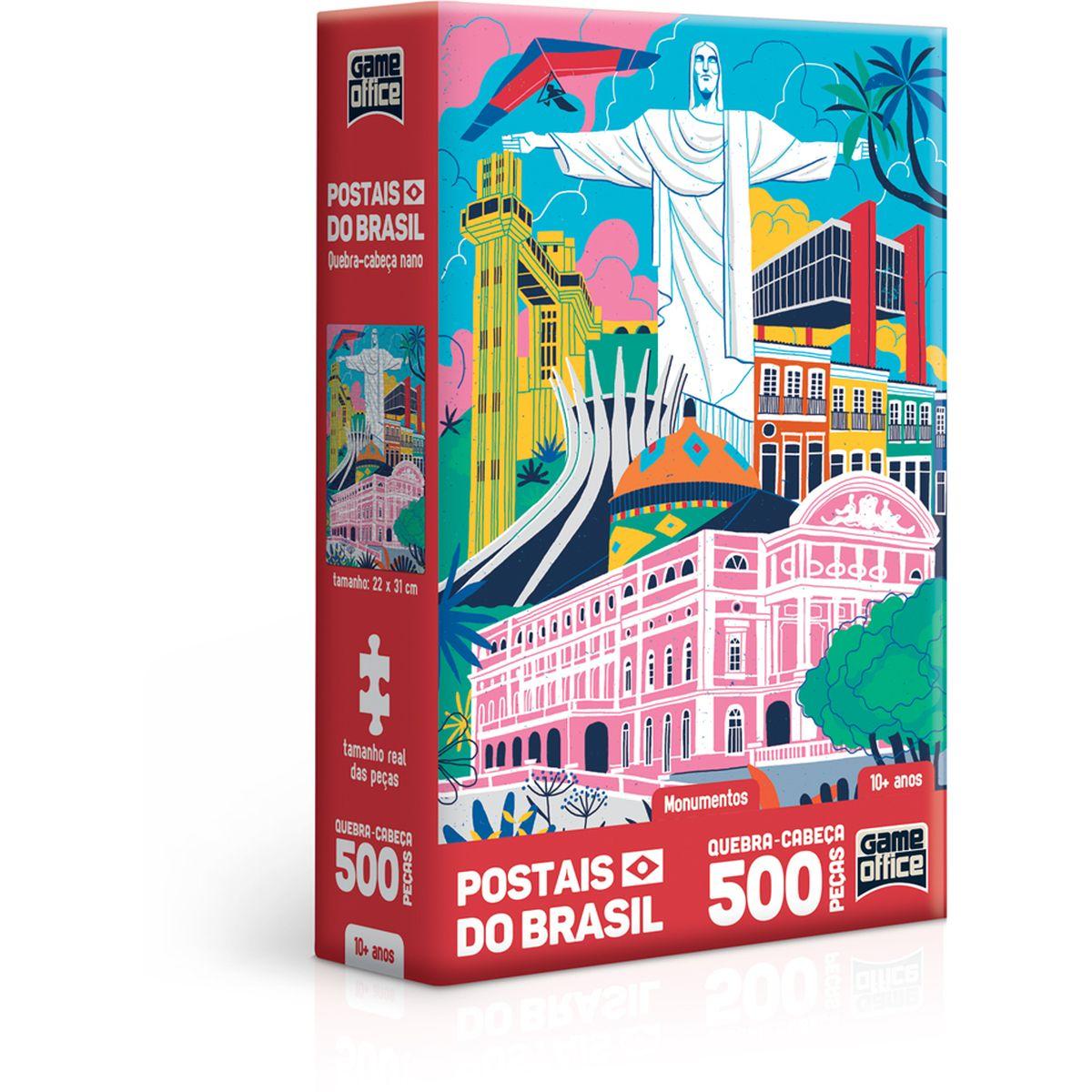 Postais Brasil Monumentos