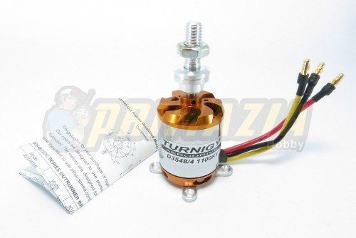 Motor Brushless Turnigy 3548/4 1100kv