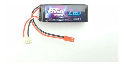 Bateria Lipo Zeee Power 850mah 11.1v 3s 30c