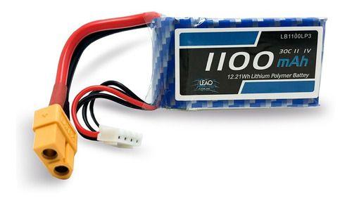 Bateria Lipo Leão 1100mah 11.1v 3s 30c