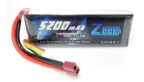 Bateria Lipo Zeee Power 5200mah 11.1v 3s 50c