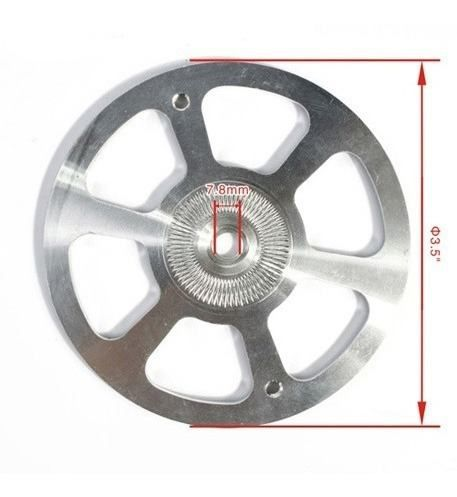 Spinner de 3.5Pol 89mm Fibra de Carbono