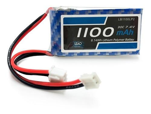 Bateria Lipo Leão 1100mah 7.4v 2s 30c