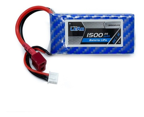 Bateria Lipo Leão 1500mah 7.4v 2s 30c