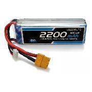 Bateria Lipo Leão 2200mah 11.1v 3s 30c Xt60