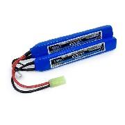 Bateria Lipo Leão 2s 7.4v 2200mah 20c Airsoft Aeg Mini Tamiya