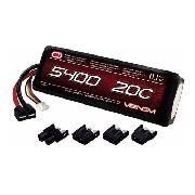 Bateria Venom 3s 5400mah 20c 11.1v Lipo