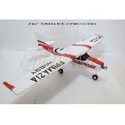 Kit Aeromodelo Cessna 182 Treinador 150cm Isopor P3 + Decals