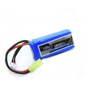 Bateria Lipo 1300mah 11.1v 3s 1 Pack 20c Airsoft Aeromodelos