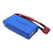 Bateria Lipo 1500mah 7.4v 2s Automodelos Wltoys 1/12 1/14