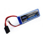 Bateria Lipo - 7.4V - 2S - 2200mAh - 30C/60C - Conector Traxxas